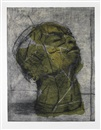 William Kentridge, Head (Green)