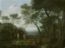 Follower Of Claude Lorrain, Der schlafende Endymion