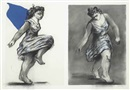 William Kentridge, Dancer Twice