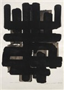 Pierre Soulages, Lithographie no. 3