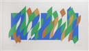Bridget Riley, Wall Painting 1 (Print)