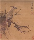 Qian Xuan, Bird in profile