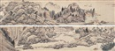 Attributed To Shen Zhou, 春游图卷 (Landscape)