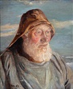 Michael Peter Ancher, An old Skagen fisherman