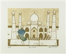 Julian Trevelyan, Taj Mahal (from the India Suite)