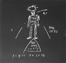 Jean-Michel Basquiat, The Offs first album with cover