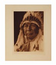 Edward Sheriff Curtis, Pipe-Stem-Oto, Fiesta of San Estevan-Acoma, Fiesta of San Estevan-Acoma, Oscar Makes Cry-Ponca, John Abbott-Osage, and A Maidu Man (6 works)