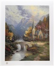 Thomas Kinkade, The Mountain Chapel