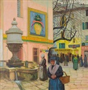Ernest Martin Hennings, Woman in the Town Square