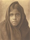 Edward Sheriff Curtis, Qahatika girl (from the North American Indian)