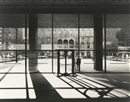 Ezra Stoller, Looking from Seagram building lobby across Park Avenue to the racquet and tennis club