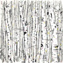 Wu Guanzhong, 白樺樹 (White Birches)