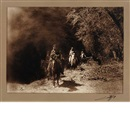 Edward Sheriff Curtis, Out of the Darkness, Navaho, Canon de Chelly