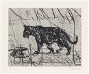 William Kentridge, Pacing Panther