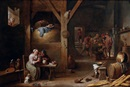 Studio Of David Teniers the Younger, Scène galante dans une auberge