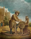 Style Of David Teniers the Younger, Le rémouleur