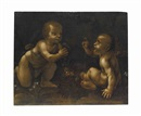 After Leonardo da Vinci, The Meeting of Christ and the Infant Saint John the Baptist
