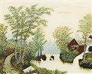 Grandma Moses, All is calm