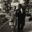 Diane Arbus, Couple Talking on a Path, N.Y.C