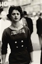 Diane Arbus, Woman in a Bow Dress, N.Y.C