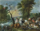 Jan Brueghel the Younger, L'Arche de Noé