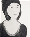 Alex Katz, Six female portraits (portfolio of 6)