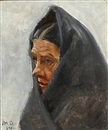 Michael Peter Ancher, A woman (study)