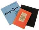 Asger Jorn, Virtus Schade: Asger Jorn (bk w/4 works) (+ another bk w/orig. lithographic illustrations)