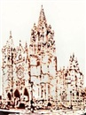 Vik Muniz, Cathedral Leon della serie: Picture of chocolate