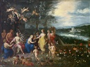 Workshop Of Jan Brueghel the Elder, Allegorie des Frühlings; Allegorie des Sommers; Allegorie des Herbstes; Allegorie des Winters (4 works)