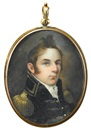 American School (19), Portrait miniature of Walker Keith Armistead (1785-1845) of Virginia