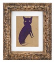 Bill Traylor, A purple cat