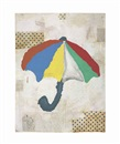 Donald Baechler, Umbrella #1