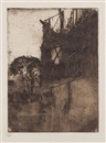 Sir Frank Brangwyn, Return from the Hunt (Together with six other works) (7 works)