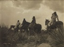 Edward Sheriff Curtis, Before the Storm -- Apache