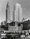 Andreas Feininger, N.Y.C., Midtown Manhattan, Chrysler & Daily News Bldgs., 2nd Ave Elevated