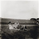Diane Arbus, A Family One Evening in a Nudist Camp