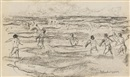 Max Liebermann, Badende Knaben (from sketchbk)