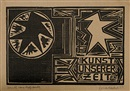 Erich Heckel, Erich Heckel - Kunst unserer Zeit (2 exhibition catalogs w/1 work each, 8vo; 2 works)