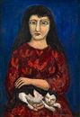 Alpo Jaakola, Woman with a cat