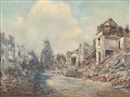 Alson Skinner Clark, Aftermath of War - Bailleul, World War I