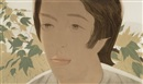 Alex Katz, Boy With Branch II