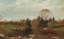 David Johnson, Spring-A Study on the Bronx at Mt. Vernon