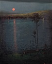 Leon Dabo, Moon on the Lake