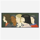 Alex Katz, Five Women