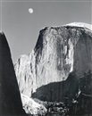 Ansel Adams, Moon and Half Dome, Yosemite National Park