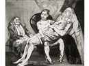 Paula Rego, After Hogarth: Hogarth I