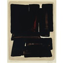 Pierre Soulages, Lithograph no. 7a