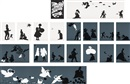 Kara Walker, The Emancipation Approximation portfolio (set of 26)