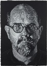 Chuck Close, Self-Portrait-Pulp